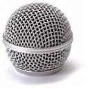 rejilla metalica microfono sm58