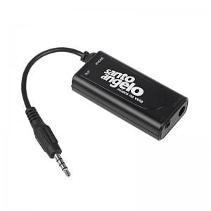 Santo Angelo FC 20 Adaptador de Guitarra o Bajo para iphone, ipad, ipod touch